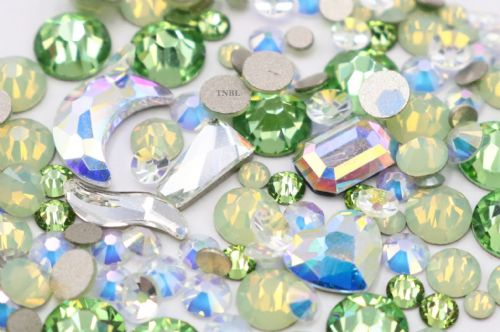 Swarovski Mixed Colour & Shape Pack August Birthstone Collection 155pcs